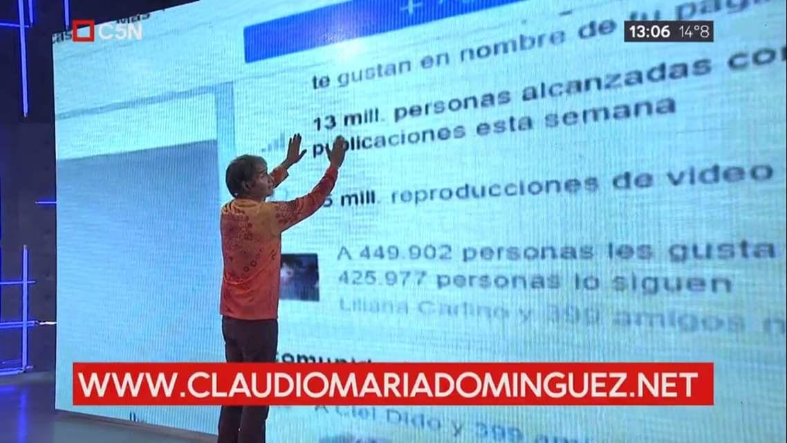 Claudio María Domínguez interpela: ¿Con qué cristal mirás la vida?