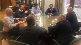 Guido Sandleris y Hernán Lacunza encabezaron la reunión con el FMI