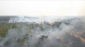 El Amazonia arde y el humo llega a la Argentina