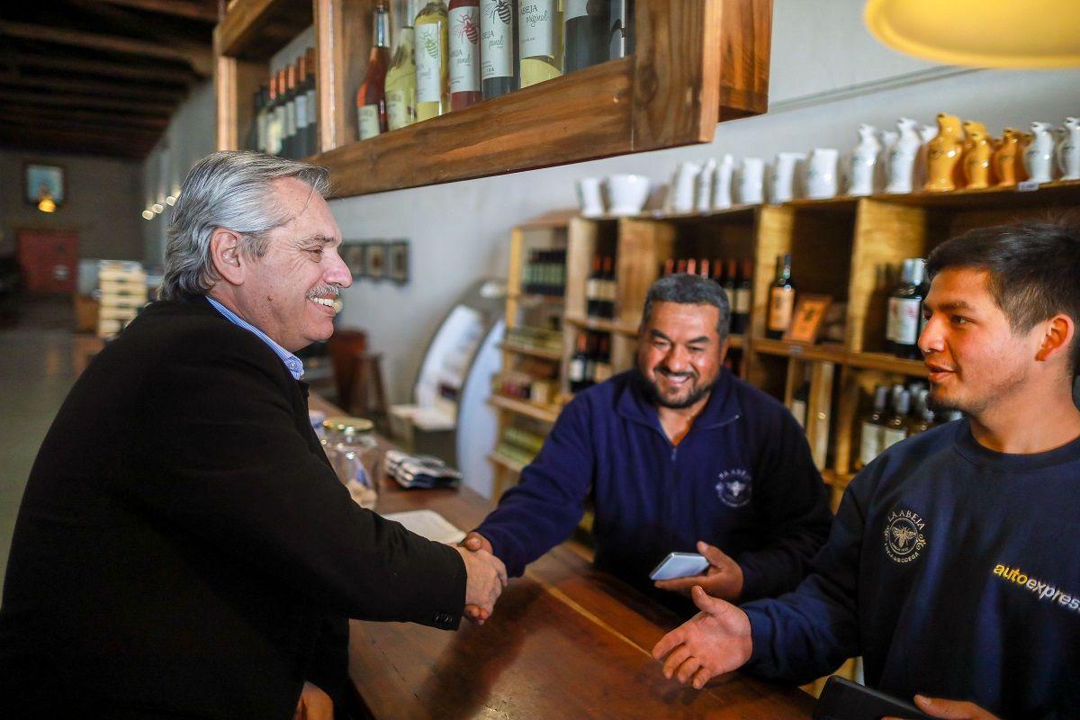 Alberto Fernández propuso un pacto entre empresarios, sindicatos y el Estado