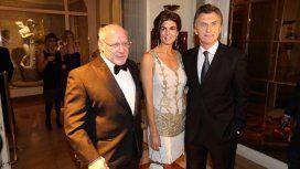 Crivelli, junto a Macri y Juliana Awada en un evento