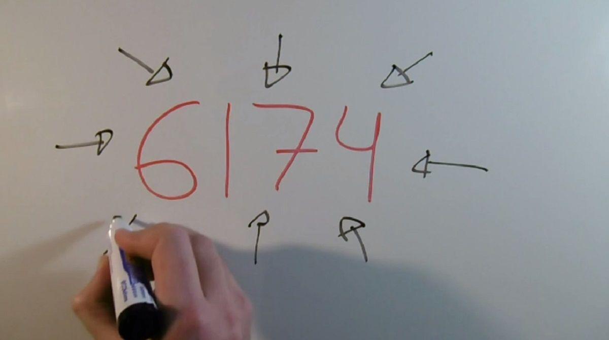 La particular característica del número 6.174 que asombra a los matemáticos