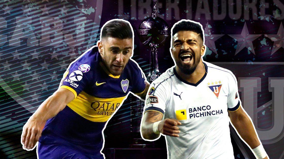 Boca vs LDU de Quito por la vuelta de los cuartos de final de la Copa Libertadores: horario, formaciones y TV