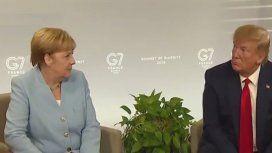La increíble reacción de Merkel cuando Trump dijo tener sangre alemana