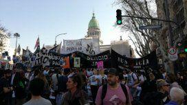 Miles de manifestantes se reunieron en el Congreso contra el gatillo fácil