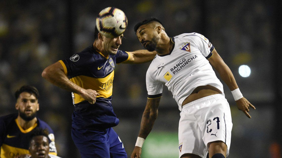 Boca empató con Liga de Quito y gracias a la goleada en la altura es semifinalista