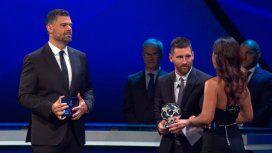 Messi busca ganar el premio The Best de la FIFA por primera vez