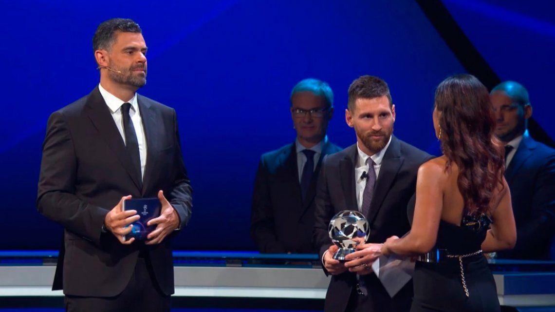 Messi le ganó a Cristiano Ronaldo el premio al mejor delantero 2018/19 de la UEFA