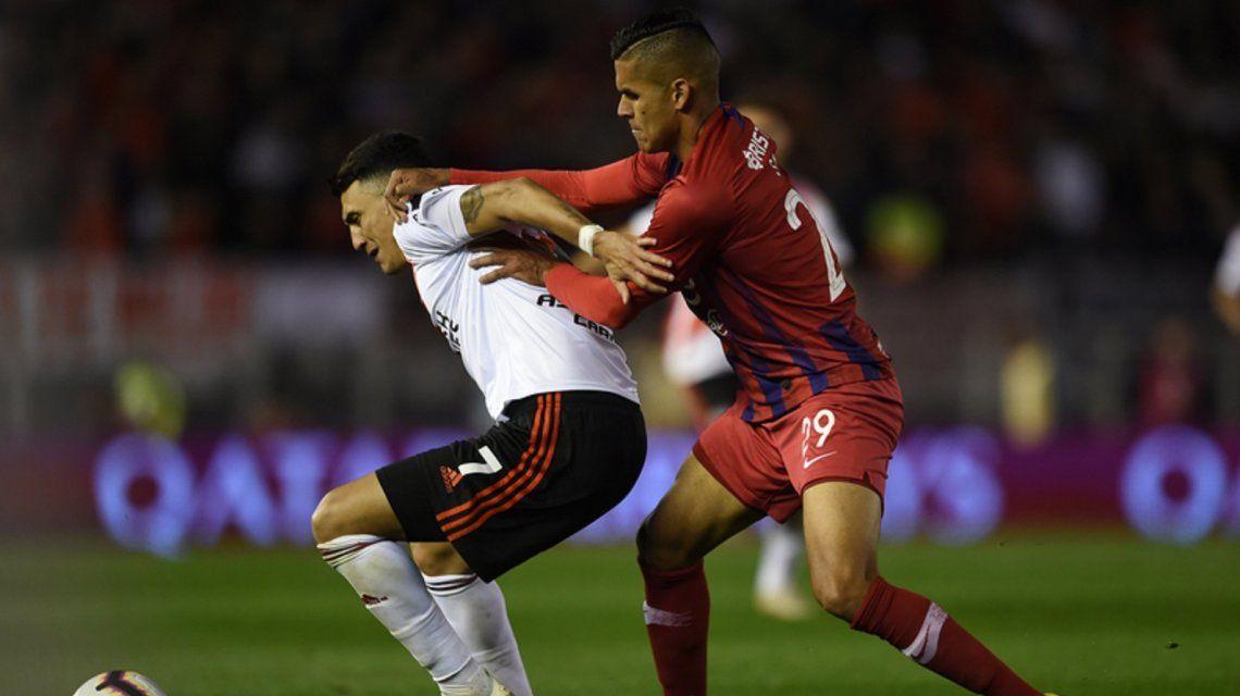 La Conmebol sancionó a River por el partido frente a Cerro Porteño