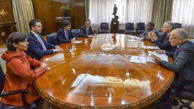Lacunza, Sandleris y los enviados del FMI