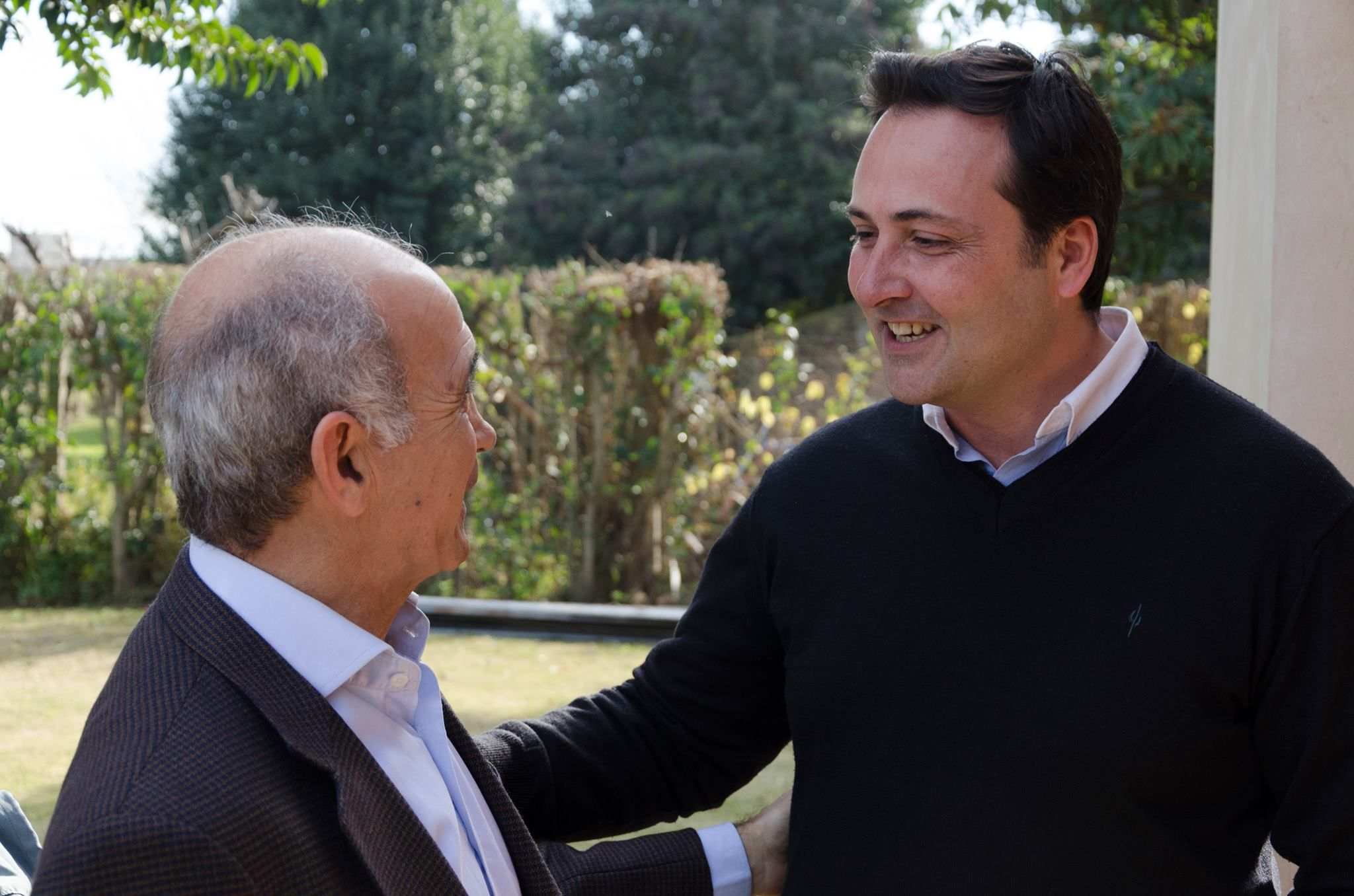 Daniel Salvador y Víctor Aiola
