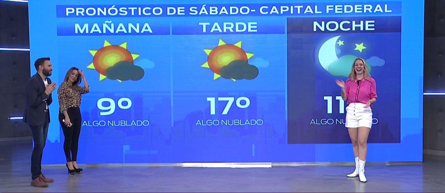 Pronóstico del tiempo del sábado 31 de agosto de 2019