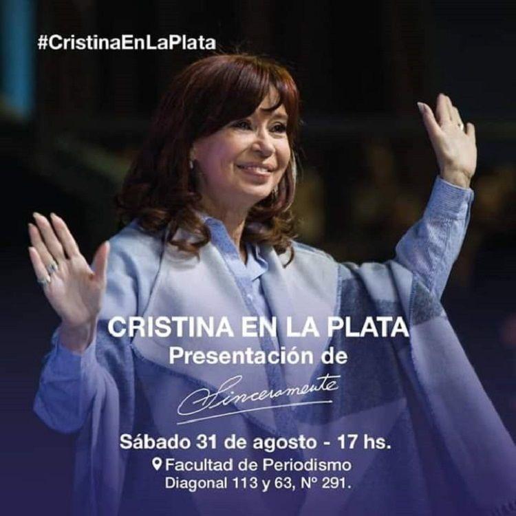 Cristina presenta Sinceramente en su ciudad y en su Universidad