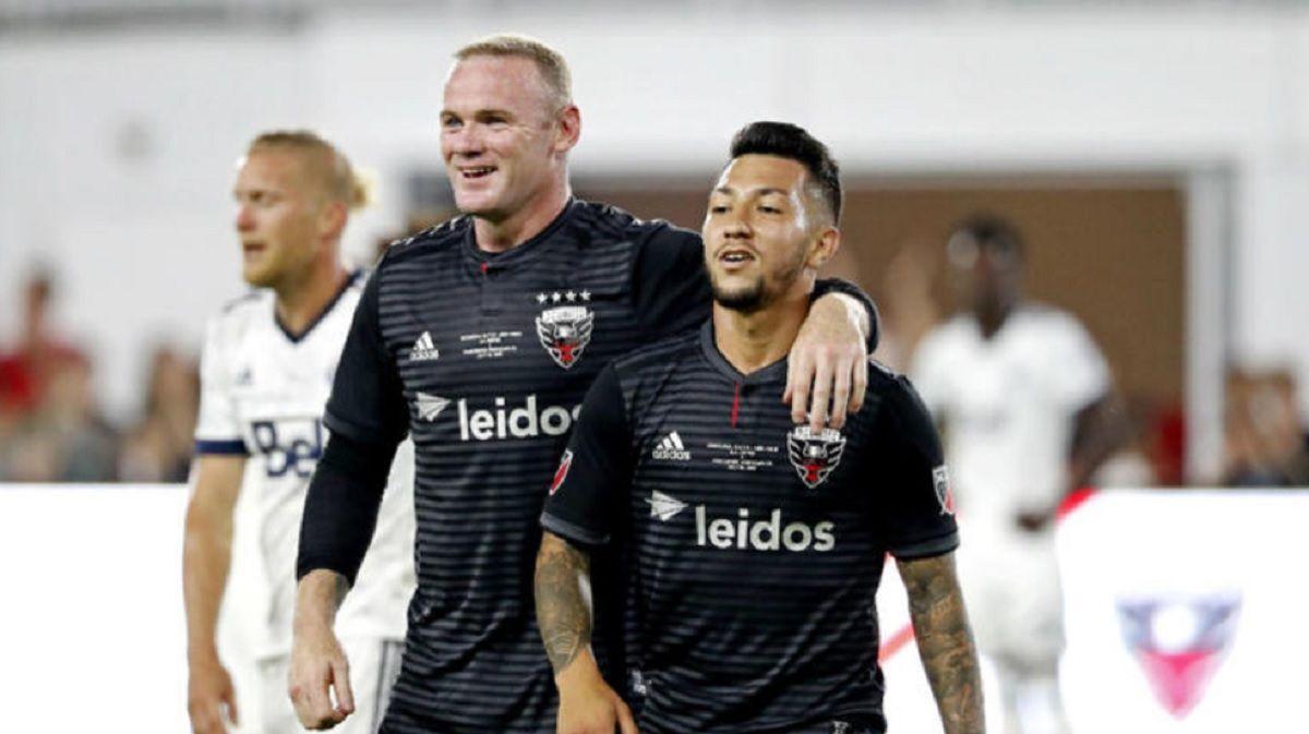 Luciano Acosta habló acerca del cariño de Wayne Rooney por Boca