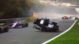 El piloto Anthoine Hubert murió en un choque en cadena en la Fórmula 2
