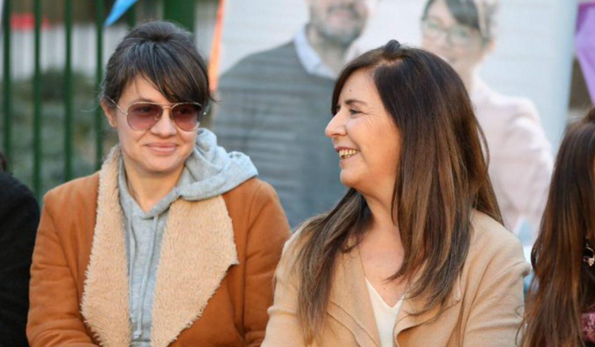 Marziotta y Gabriela Cerruti en elEncuentro de Referentes Territoriales de Ampliar