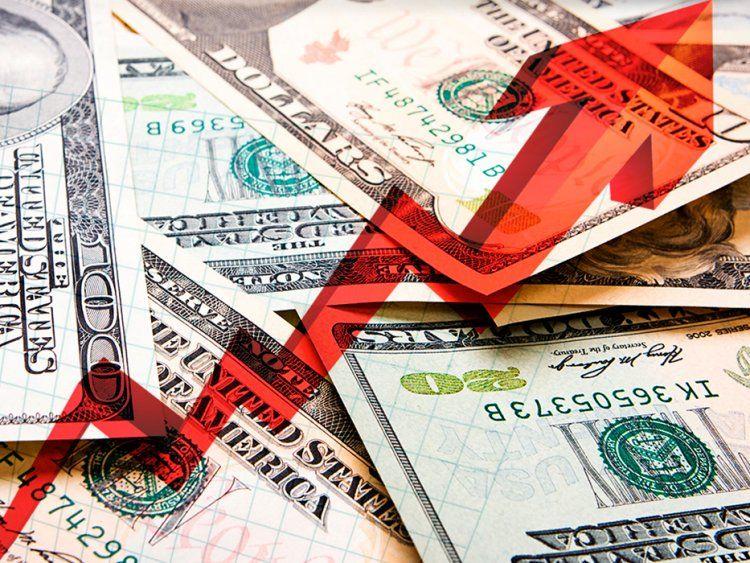 El dólar subió otros 28 centavos y cerró a 59,06 pesos