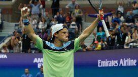 Diego Schwartzman venció al top ten Zverev y se metió en cuartos de final del US Open