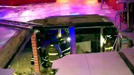 Al menos 6 heridos tras el desplome del piso en un boliche