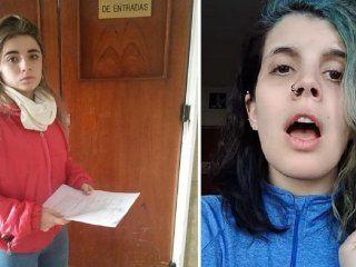 Lucía Álvarez Vasallo (denunciante) y Femininja (denunciada)