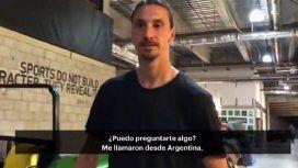El enojo de Zlatan Ibrahimovic cuando le hablaron de Boca