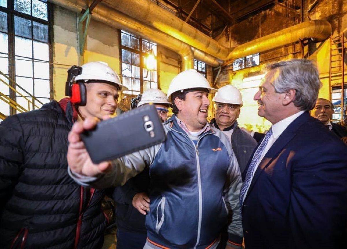Alberto Fernández: La Bolsa no encuentra piso, YPF está en los valores más bajos de su historia