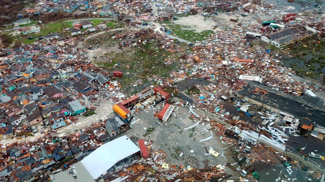 La peor catástrofe de la historia: así quedaron las Bahamas tras el paso del huracán Dorian