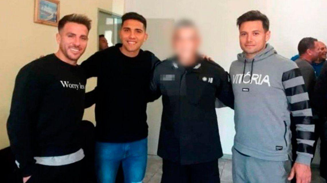 Polémica en Boca: Zárate, Reynoso y Buffarini visitaron la cárcel junto a Rafa Di Zeo