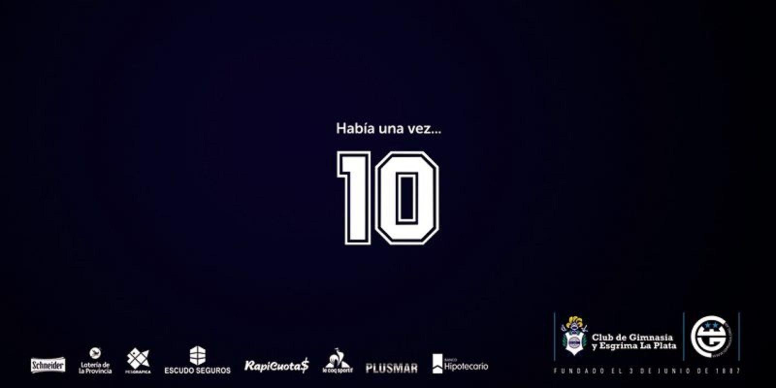 Bienvenido al Club más hermoso del mundo: así anunció Gimnasia la llegada de Diego Maradona como DT