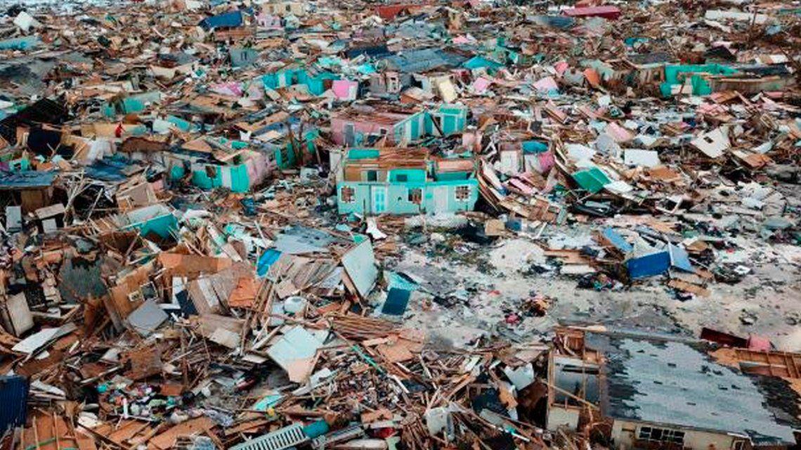 Las Bahamas, devastadas: hay 2500 desaparecidos tras el huracán Dorian