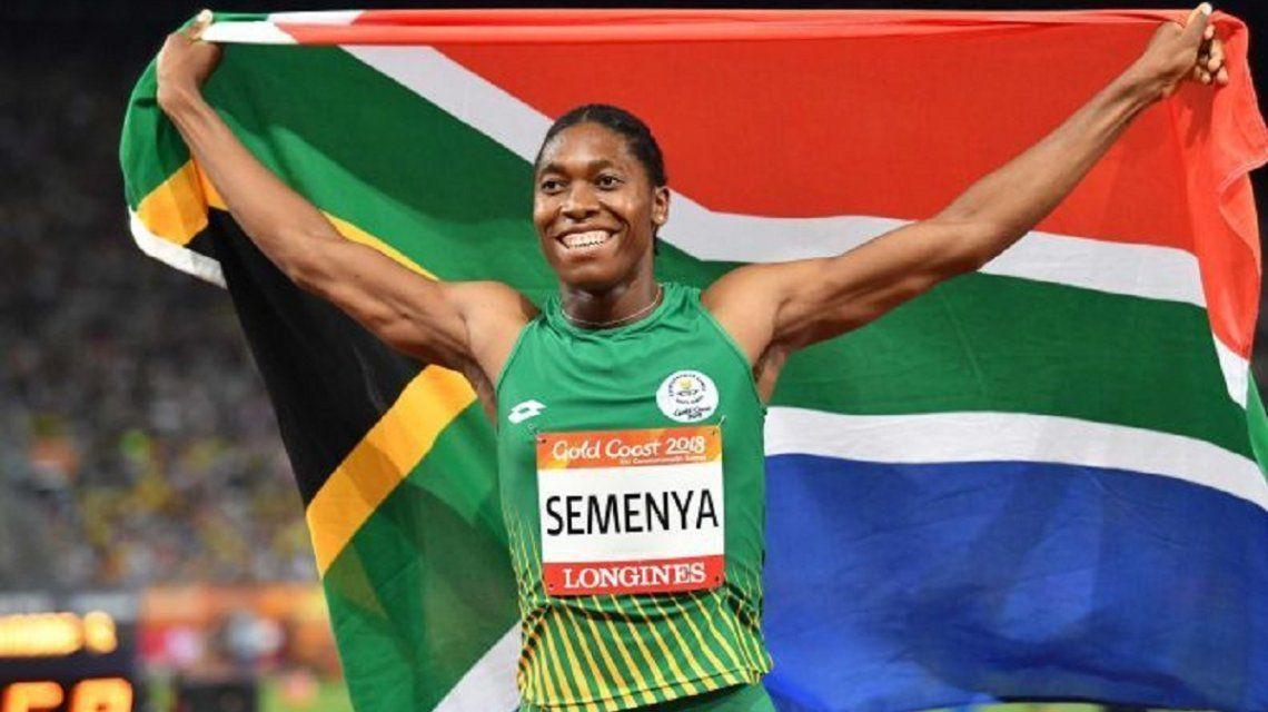 Caster Semenya: la campeona olímpica que deja el atletismo por el fútbol en medio de una polémica