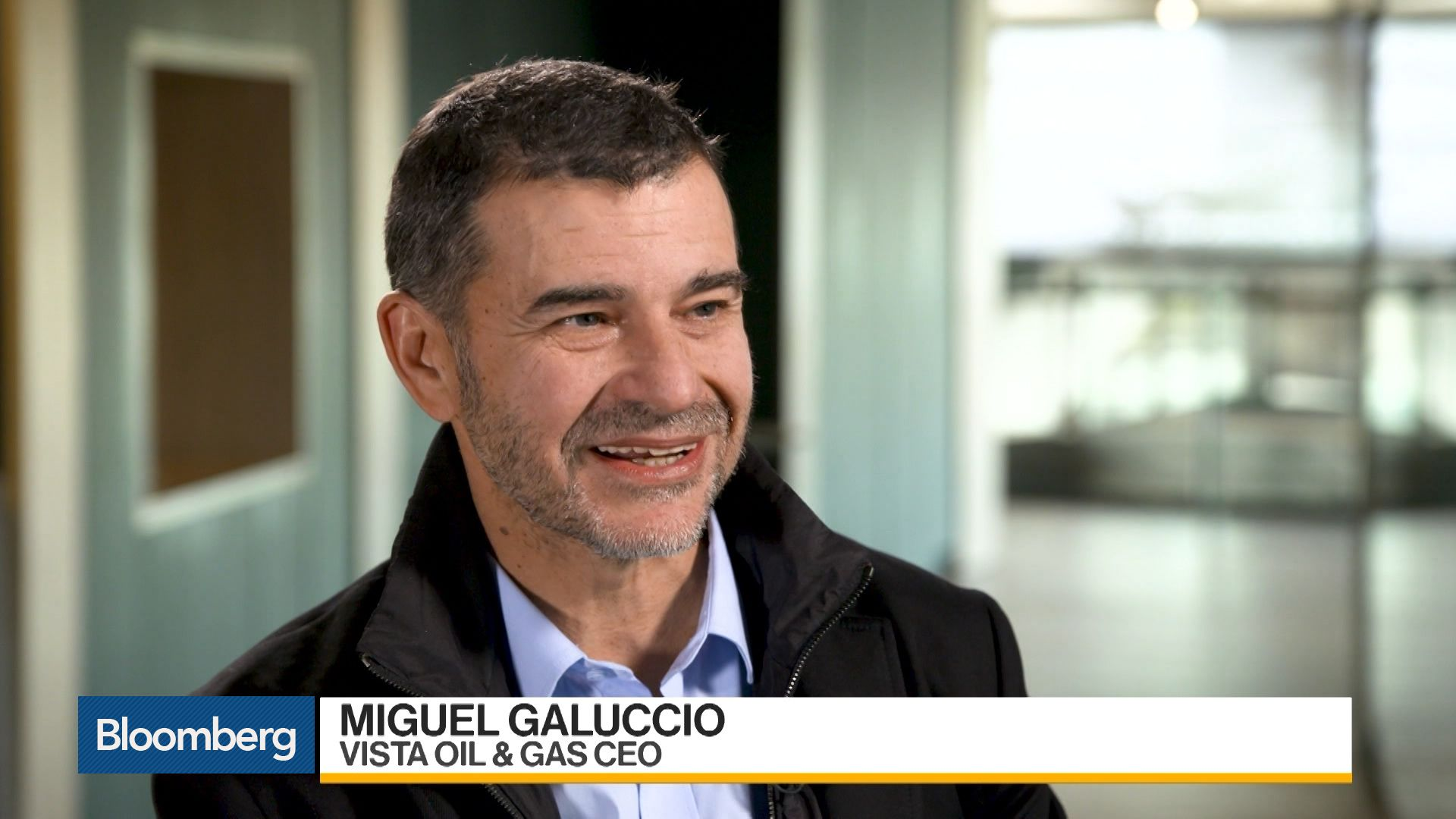 Miguel Galuccio fue entrevistado por Bloomberg TV