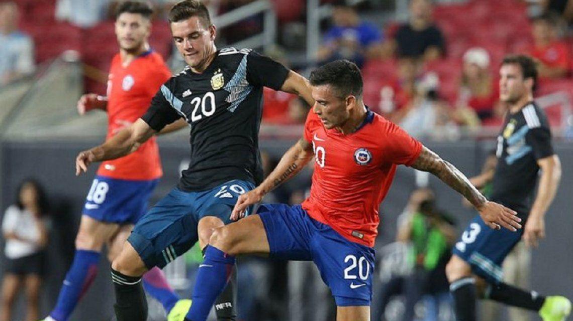 Lo Celso fue desafectado de la Selección