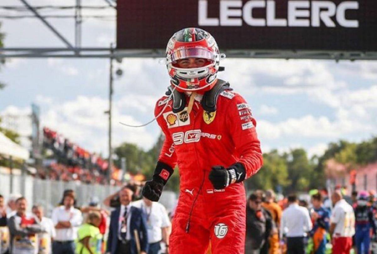 Fórmula 1: Leclerc le devolvió la victoria a Ferrari en el GP de Italia