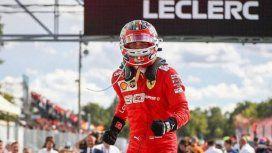 Leclerc le devolvió la victoria a Ferrari en el GP de Italia