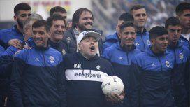 El emotivo mensaje de Maradona para los hinchas de Gimnasia