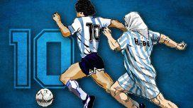 Diego Armando Maradona y Hebe de Bonafini