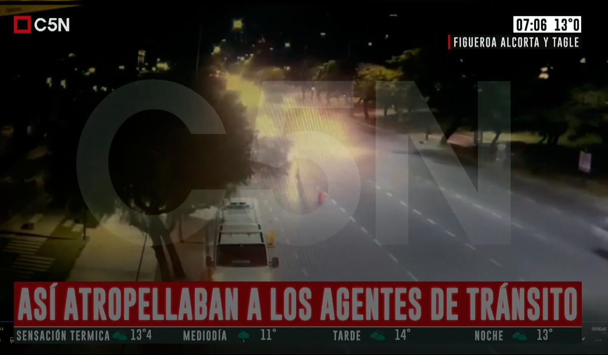 VIDEO: Así fue cómo Eugenio Veppo atropelló y mató a una agente de tránsito