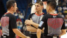 Echaron a un árbitro argentino del Mundial de básquet por un grosero error