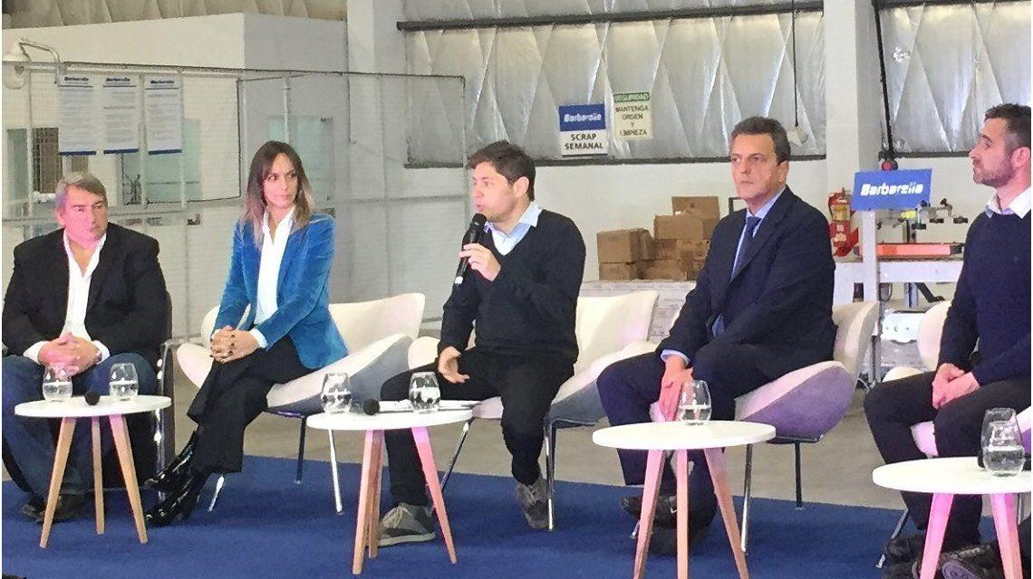 Axel Kicillof, en Pilar: Hay una emergencia alimentaria: los chicos no hacen las cuatro comidas diarias