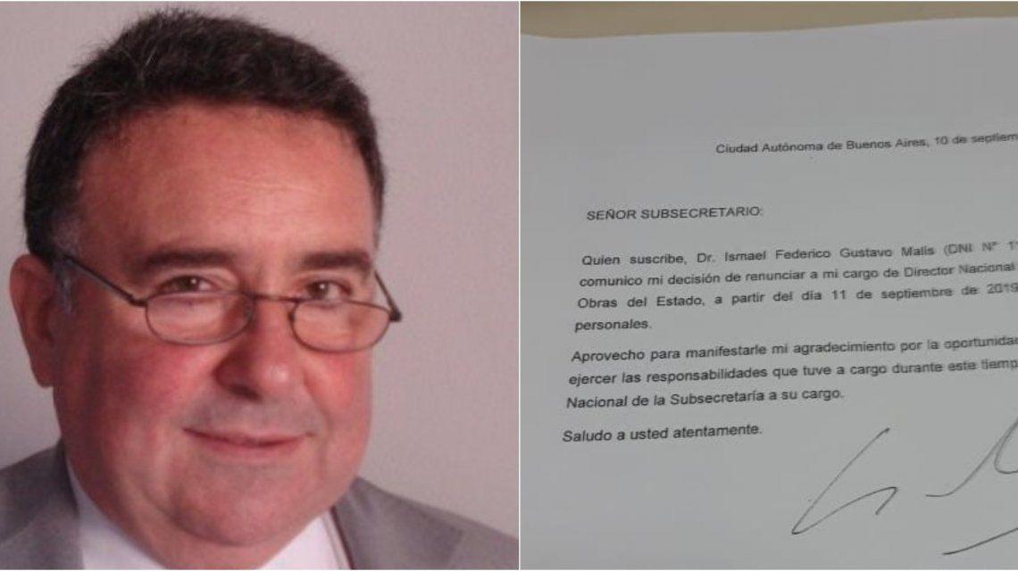 Ismael Malis y su renuncia