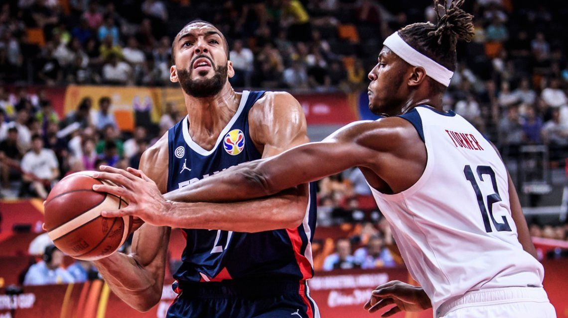 Mundial de básquet China 2019: Francia dio el golpe ante Estados Unidos y será rival de Argentina en la semifinal