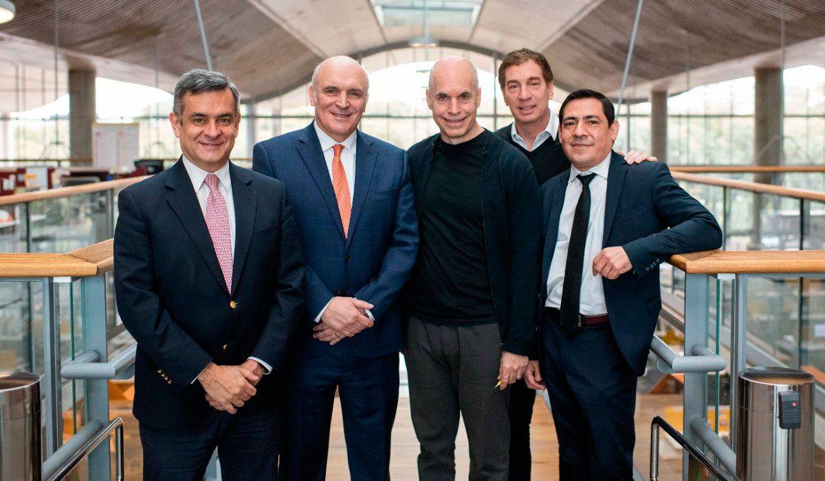José Luis Espert anunció su apoyo a Rodríguez Larreta en la Ciudad