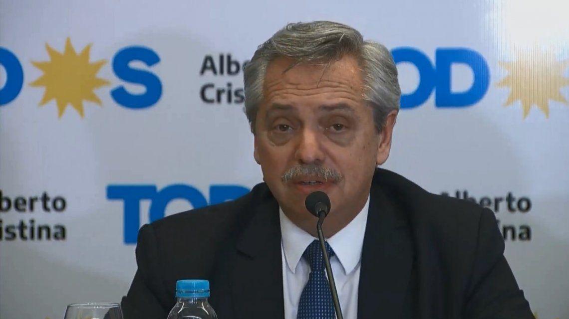 Alberto Fernández: Les pido a los argentinos que evitemos estar en las calles