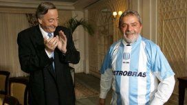 Néstor Kirchner y Lula da Silva