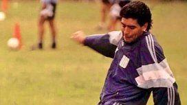 El mensaje de Racing a Maradona en la previa del partido ante Gimnasia