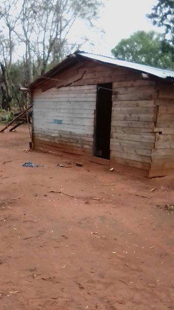 Comunidad donde vive Miryam en Misiones