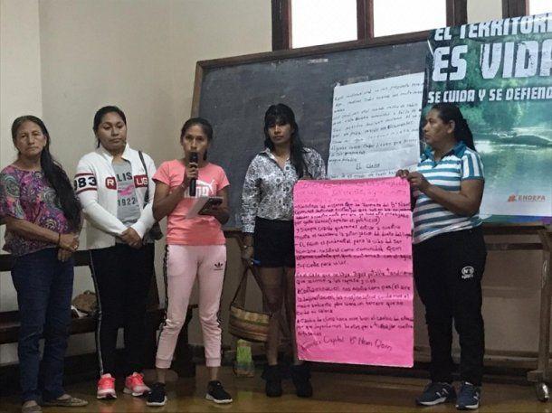 Reclamo de las comunidades guaranies por la absolución de Miryam
