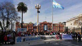 Hipotecados UVA marcharán a Plaza de Mayo para exigir una solución de fondo a su drama