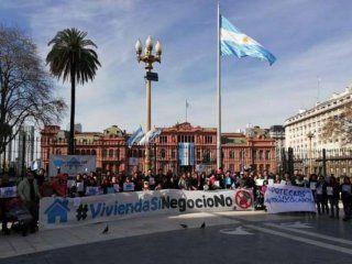 hipotecados uva marcharan a plaza de mayo para exigir una solucion de fondo a su drama